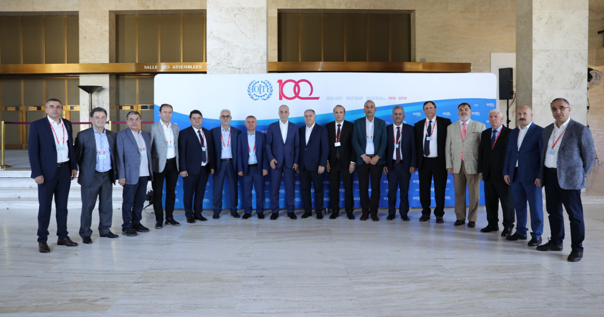 ILO'NUN YÜZÜNCÜ YILINDA 108. ULUSLARARASI ÇALIŞMA KONFERANSI İŞİN GELECEĞİ GÜNDEMİYLE TOPLANDI