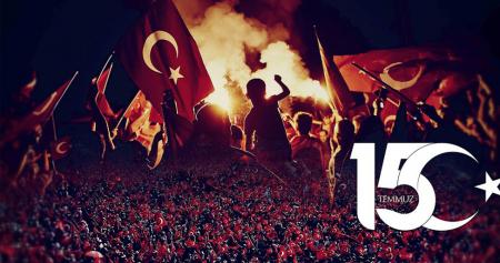 15 TEMMUZ GECESİ CANLARI PAHASINA DEMOKRASİMİZİ KORUYANLARI MİNNETLE ANIYORUZ